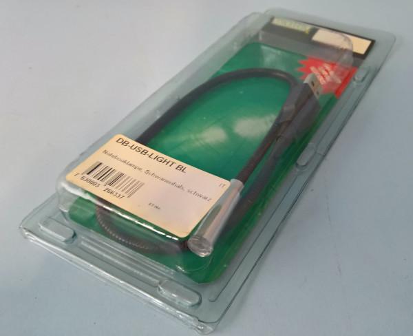 Digitus Notebooklampe USB Schwanenhals | Schwarz Fabrikneu original verpackt