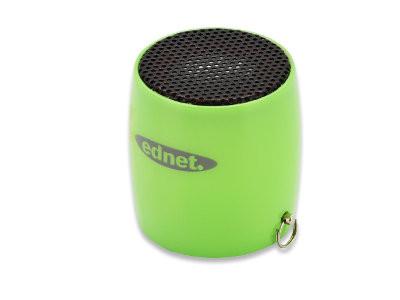 ednet MiniMax Bluetooth Lautsprecher 3W, Grün