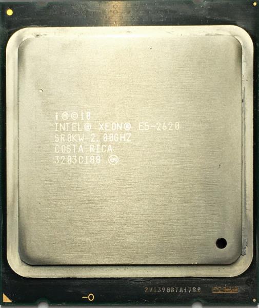 Intel XEON E5-2620 HEXA CORE 2.00GHZ Socket 2011