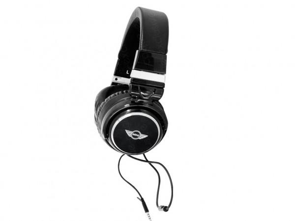 MINI Kopfhörer 104 mit Logo | Schwarz
