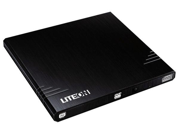 LITEON Externer USB DVD-Brenner Schwarz