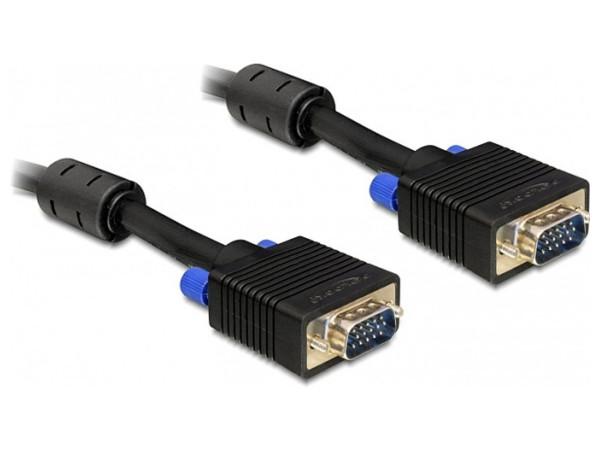 Delock VGA Kabel 2m Stecker-Stecker | FABRIKNEU