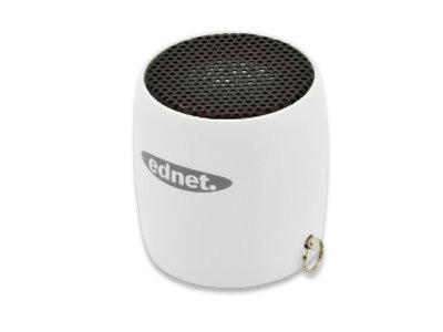 ednet MiniMax Bluetooth Lautsprecher 3W, Weiss