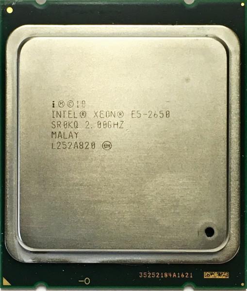 Intel XEON E5-2650 OCTA CORE 2.00GHZ Socket 2011