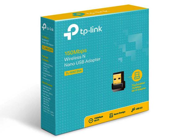 TP-LINK TL-WN725N 150Mbit/s-WLAN-Nano-USB-Adapter