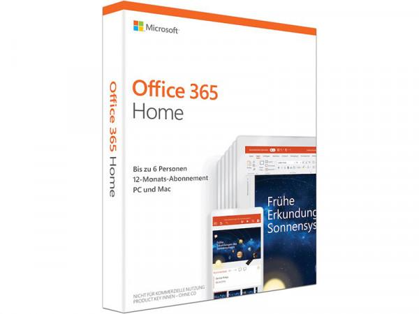 Microsoft Office 365 Home DE für 6 Personen