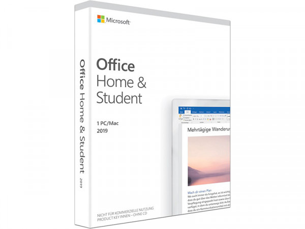 Microsoft Office Home & Student 2019 DE