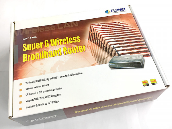 Planet WRT-410A | Super G Wireless Broadband Router