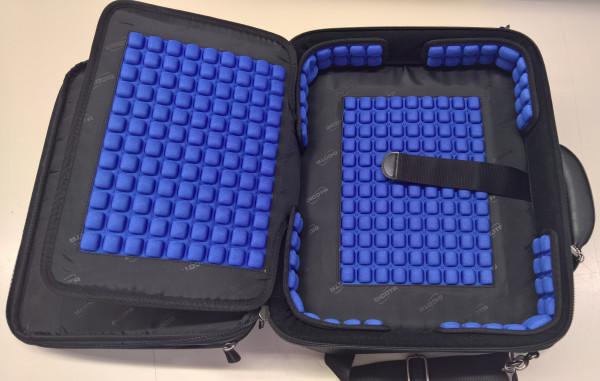 DICOTA Hochwertige 14 ZOLL Notebooktasche mit Polsterung und vielen Zusatztaschen