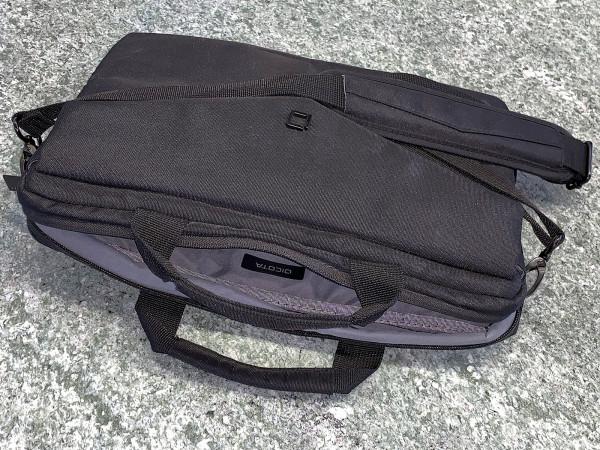 DICOTA Kompakte 12.5 Zoll Notebooktasche inkl. Tragriemen
