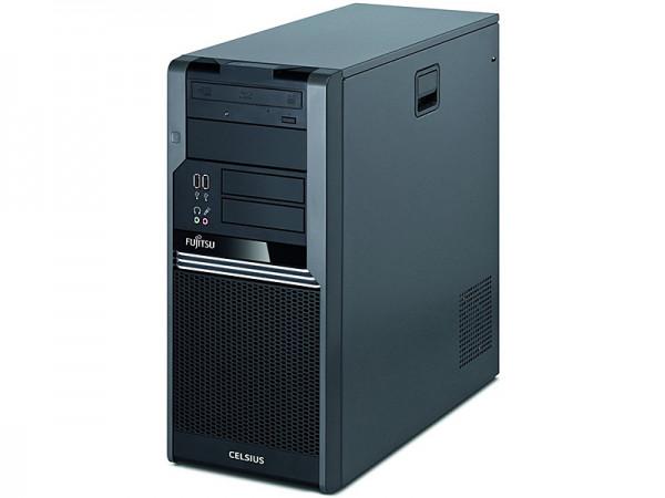 Fujitsu Celsius W380   Quad Xeon X3450   QUADRO FX 580   Kein Betriebssystem