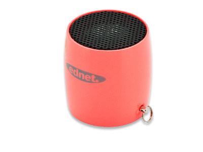 ednet MiniMax Bluetooth Lautsprecher 3W, Rot