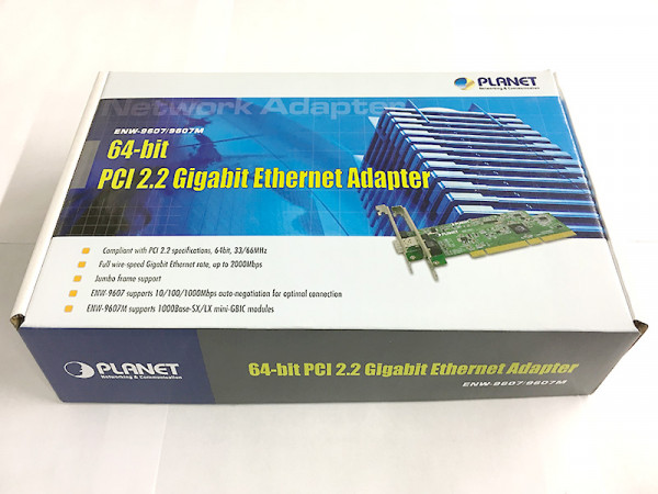Planet Gigabit Ethernet Karte ENW-9607 | PCI 2.2 64bit