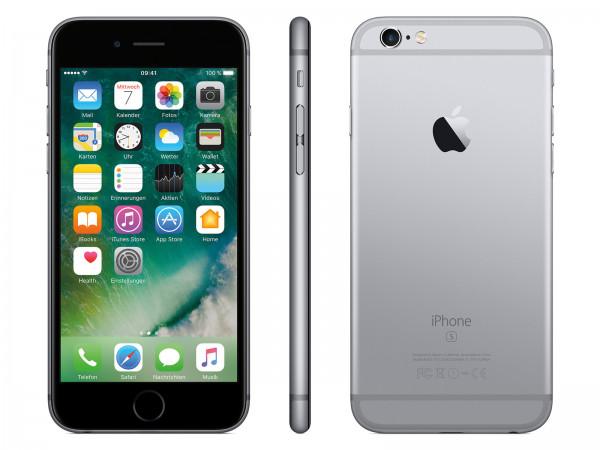 "Apple iPhone 6S 128GB | Spacegrau | 4.7"" |leichte Kratzer"
